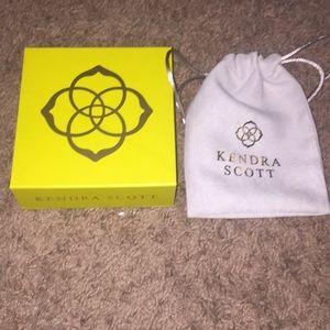Kendra Scott jewelry box and bag